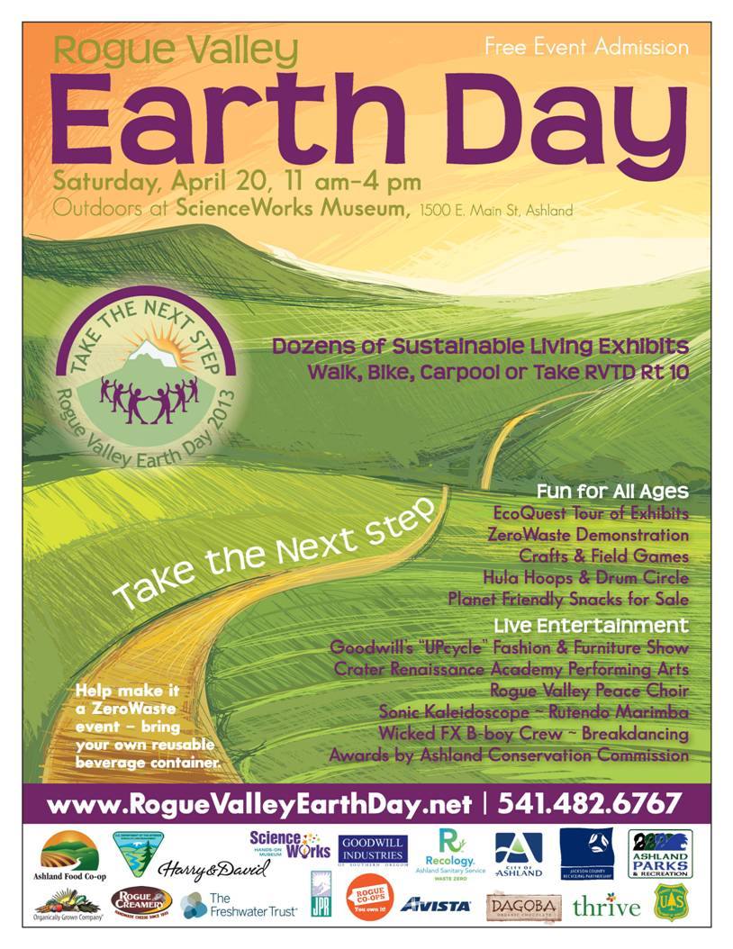 earth day events hike and go seec