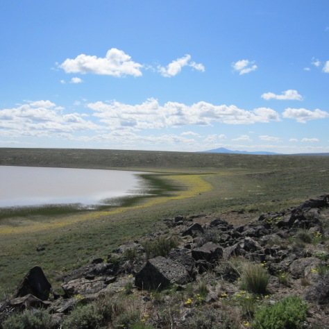 Petroglyph Lake. Photo by Hillary Lowenberg.