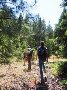 hiking in the Cascade Siskiyou National Monument
