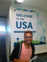 Arriving in the USA